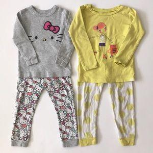Bundle of BabyGap 2T Pajamas